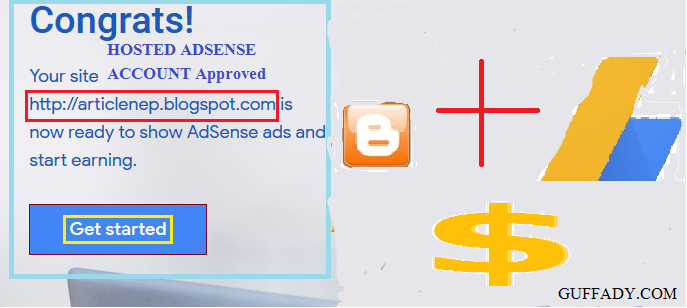 Get AdSense Account Approved for Blogger