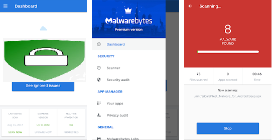 malwarebytes Security: virus cleaner & anti-malware app